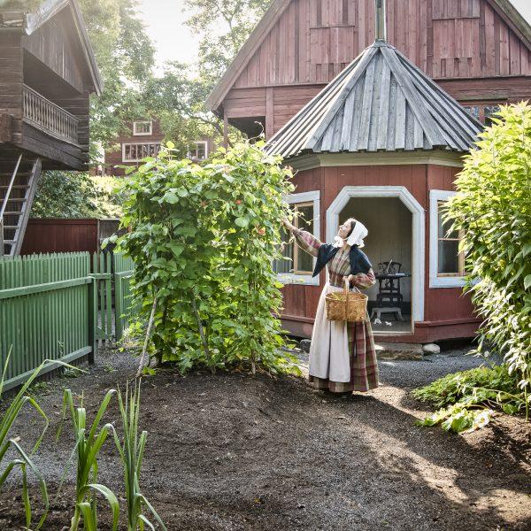 Skansen är en av Swedish Gardens 35 medlemsanläggningar.